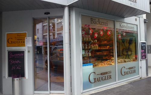 Bäckerei Gaugler in Basel