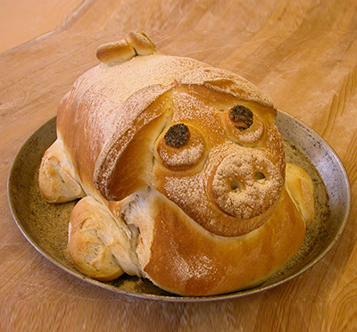 Schinken im Brot