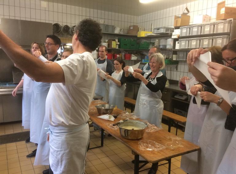 Die Bäckerei Gaugler AG am Projekt Neubau
